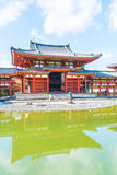 Beautiful Architecture Byodo-in Temple at Kyoto. Stock Image