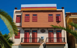 Beautiful architecture in Chania on Crete, Greece Stock Photography