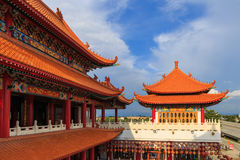Beautiful architecture china's style. This place for people worship royalty free stock images