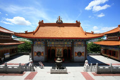 Beautiful Architecture of Chinese Temple Royalty Free Stock Images