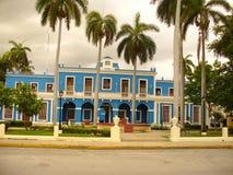 Beautiful architecture of Cuba. Beautiful houses in Cuba, small towns, beautiful architecture, small houses, neat little houses, beautiful houses, beautiful royalty free stock photos