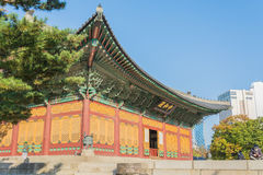 Beautiful Architecture in Deoksugung Palace at Seoul city , Kore Stock Images