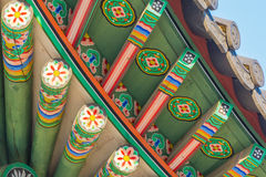 Beautiful Architecture in Deoksugung Palace at Seoul city , Kore Stock Image