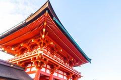 Beautiful Architecture Fushimiinari Taisha ShrineTemple in Kyoto Stock Photos