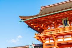 Beautiful Architecture Fushimiinari Taisha ShrineTemple in Kyoto Royalty Free Stock Photography