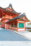 Beautiful Architecture Fushimiinari Taisha ShrineTemple in Kyoto Royalty Free Stock Image
