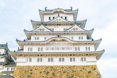 Himeji Castle in Hyogo Prefecture, Japan, UNESCO World Heritage. Beautiful Architecture Himeji Castle in Hyogo Prefecture, Japan, UNESCO World Heritage Royalty Free Stock Images