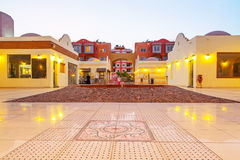Beautiful architecture of Hurghada Marina Royalty Free Stock Images