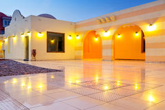 Beautiful architecture of Hurghada Marina Royalty Free Stock Image