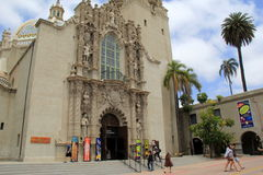 Beautiful architecture with intricate design, Balboa Park, San Diego, 2016 Royalty Free Stock Photo