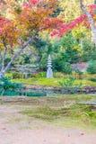 Beautiful Architecture at Kinkakuji Temple (The Golden Pavilion) Royalty Free Stock Photo