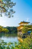 Beautiful Architecture at Kinkakuji Temple (The Golden Pavilion) Stock Photography