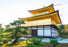 Beautiful Architecture at Kinkakuji Temple (The Golden Pavilion). In Kyoto, Japan Stock Photo