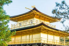 Beautiful Architecture at Kinkakuji Temple (The Golden Pavilion). In Kyoto, Japan Stock Photography
