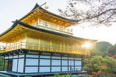 Beautiful Architecture at Kinkakuji Temple (The Golden Pavilion). In Kyoto, Japan Royalty Free Stock Images