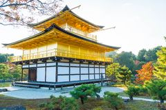 Beautiful Architecture at Kinkakuji Temple (The Golden Pavilion) Stock Image