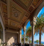 Beautiful architecture of Ligurian Riviera. Royalty Free Stock Images