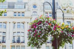 Beautiful architecture in London cty centre. LONDON, UNITED KINGDOM - August 17th, 2014: beautiful architecture in London cty centre Stock Photo