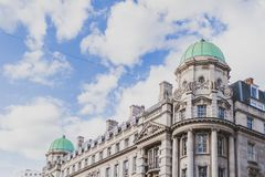 Beautiful architecture in London cty centre. LONDON, UNITED KINGDOM - August 16th, 2014: beautiful architecture in London cty centre Stock Photography