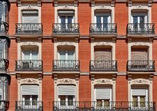 Madrid Spain Architecture Stock Image