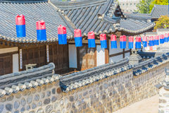 Beautiful Architecture in Namsangol Hanok Village