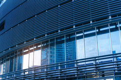Beautiful Architecture Of Office Building In Blue Royalty Free Stock Photography