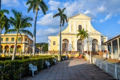 Old center, Trinidad Cuba. Beautiful architecture Old Trinidad Cuba Stock Photography