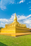 Beautiful Architecture at Pha That Luang,Vientiane, Laos. Stock Photo