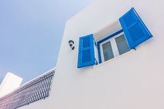 Beautiful architecture with santorini and greece style Stock Photo