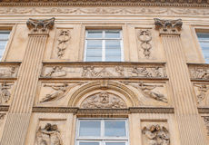 Beautiful architecture, sculpture on the wall, a bas-relief Royalty Free Stock Photo