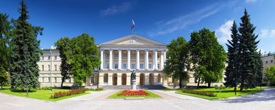 Beautiful architecture Smolny Palace St. Petersbur Stock Images