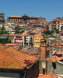 Streets of Porto Portugal in Summer royalty free stock photos