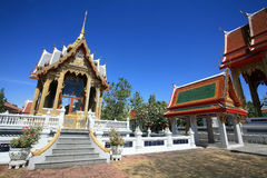 Beautiful Architecture of Thai Temple Stock Images