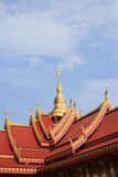 Beautiful architecture in Thailand Temple. Stock Photo
