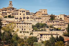 Beautiful architecture in Tuscany, Italy. Beautiful old architecture in Tuscany, Italy stock images