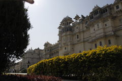 Beautiful Architecture of Udaipur City Palace in Rajasthan. India, Asia Royalty Free Stock Images