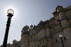 Beautiful Architecture of Udaipur City Palace in Rajasthan. India, Asia Stock Images