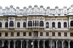 Beautiful Architecture of Udaipur City Palace in Rajasthan. Which is one of the major tourist attractions in India Stock Images