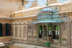 Beautiful architecture in udaipur Royalty Free Stock Photos