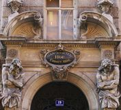 Beautiful architecture of Vienna stock image
