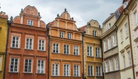 Beautiful architecture in Warsaw Royalty Free Stock Photos