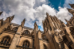 Beautiful architecture at the Washington National Cathedral. Royalty Free Stock Photography