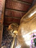 The beautiful architecture of Wat Pho Thailand Royalty Free Stock Image