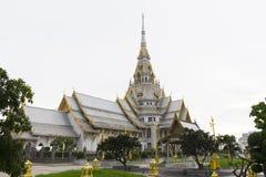 Wat Sothon Wararam Worawihan, Chachoengsao, Thailand. Beautiful architecture of Wat Sothon Wararam Worawihan, Chachoengsao, Thailand Stock Image