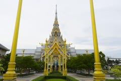 Wat Sothon Wararam Worawihan, Chachoengsao, Thailand. Beautiful architecture of Wat Sothon Wararam Worawihan, Chachoengsao, Thailand Stock Photo