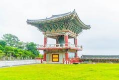 Yakcheonsa Temple in Jeju Island, South Korea. Beautiful architecture at Yakcheonsa Temple in Jeju Island, South Korea Royalty Free Stock Photo