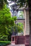 Architectures of Baden-Baden. Beautiful architectures of Baden-Baden, Germany stock photography