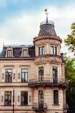Architectures of Baden-Baden. Beautiful architectures of Baden-Baden, Germany stock photo