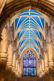Beautiful archway in the Cathedral of Edinburgh Stock Photography