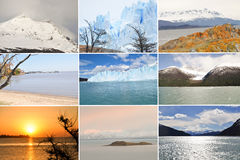 Beautiful Argentina Landscape. Collage Images Of Beautiful Argentina Landscape Royalty Free Stock Image